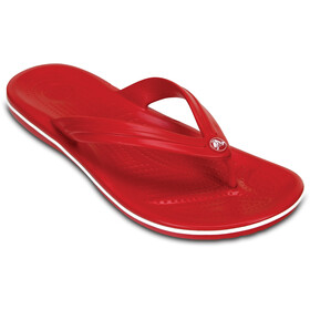 Crocs Crocband Sandales, pepper/white